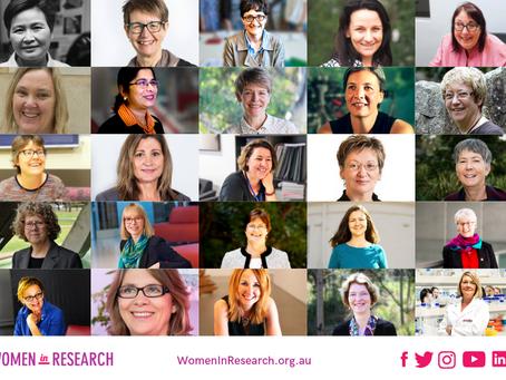 Launch of WOMEN IN RESEARCH website