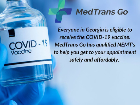 MedTrans Go COVID-19 Vaccine Transportation