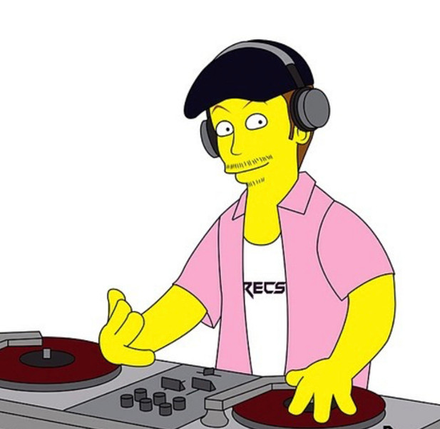 My Simpsons character