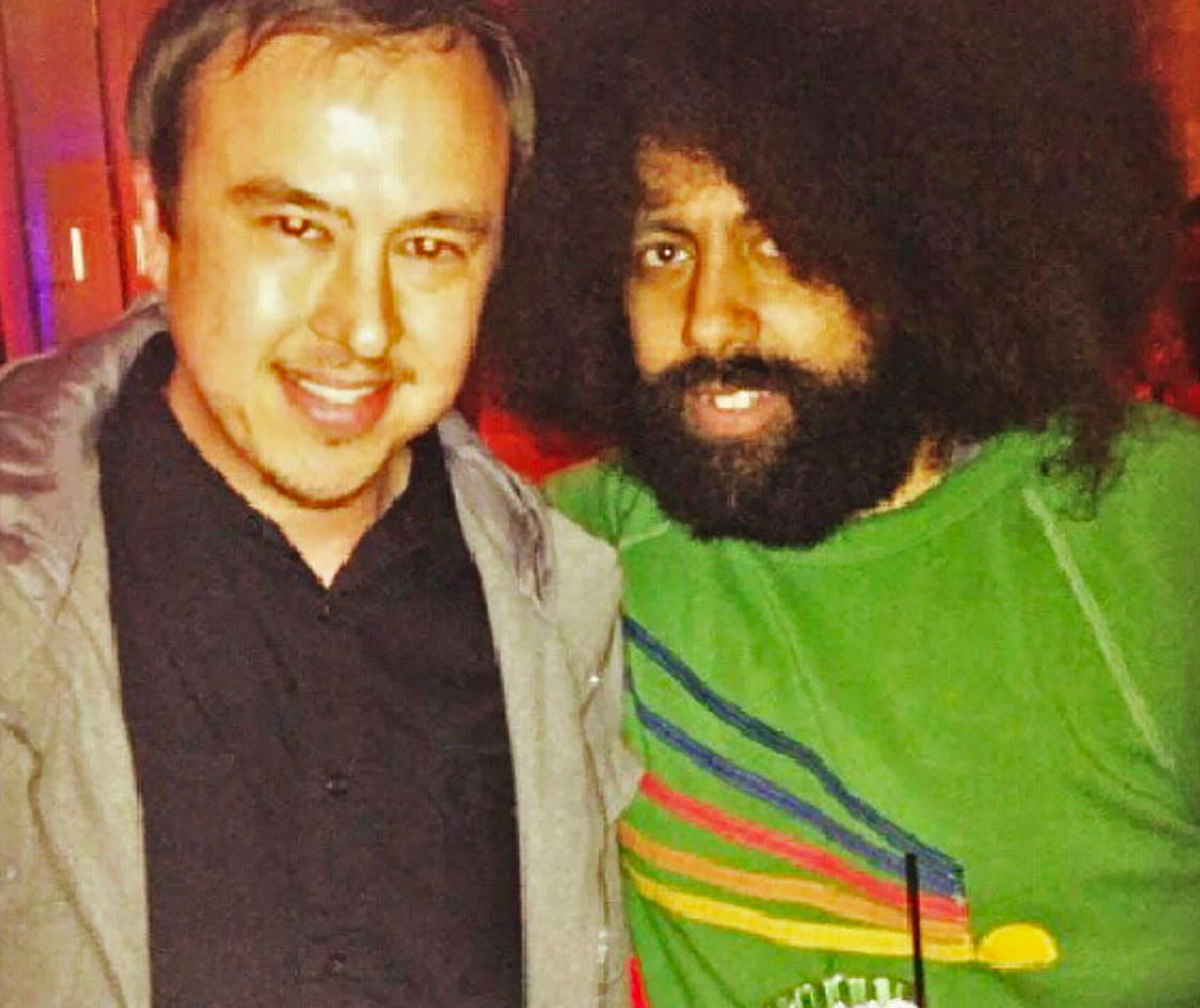 Hanging with Reggie Watts