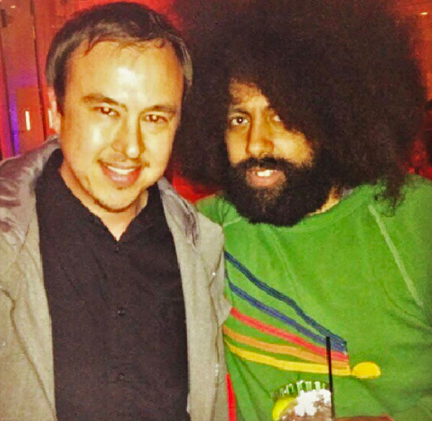 Hanging with Reggie Watts