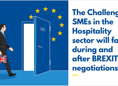 The Challenges SMEs in the Hospitality Sector will Face During and After Brexit Negotiations