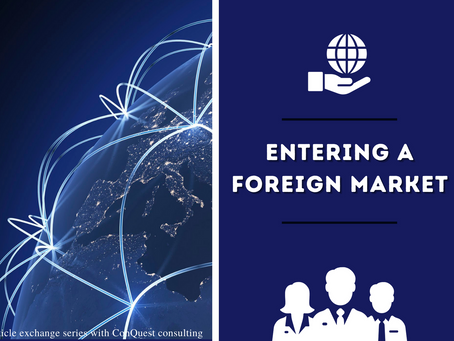 How to prepare for foreign market entry?