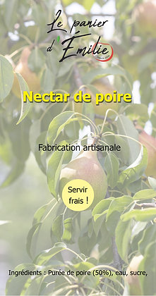 Nectar de poire | France | 1 ou 6 bouteilles