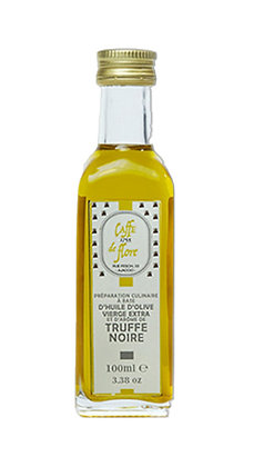 Huile d'olive extra vierge, arôme truffe noire | 100ml