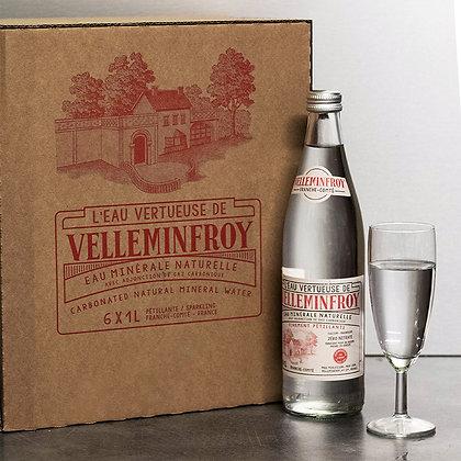 Cure Eau vertueuse pétillante | 50cl x 12 bouteilles