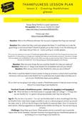 S2 Thankfulness Lesson Plan 2 - 2 ages v