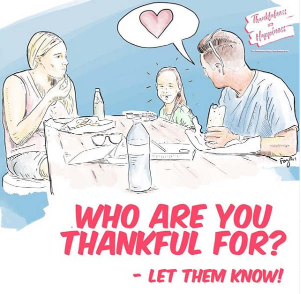 Who are you thankful for