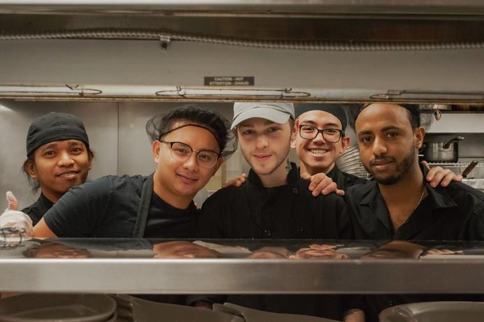 East Village Kitchen Team