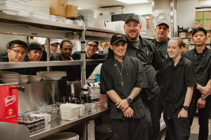 East Village Pub Kitchen Team