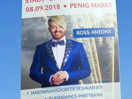 My new neighbour is Ross Antony