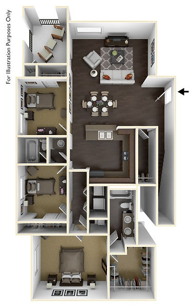 Picture to represent three bedroom floor plan page click to see more 3 bed plans