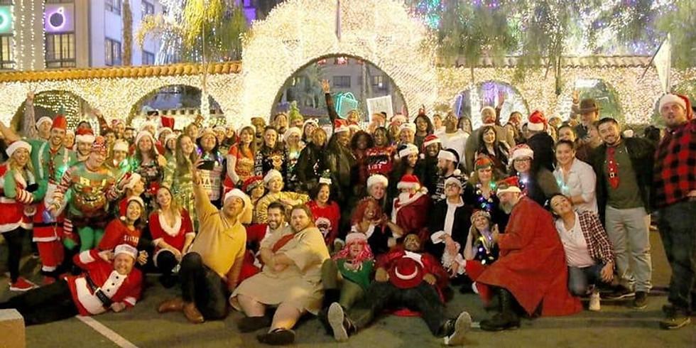 Donwtown Riverside Santa Pub Crawl