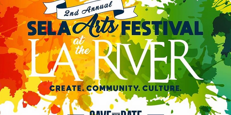 SELA Arts Festival in LA River