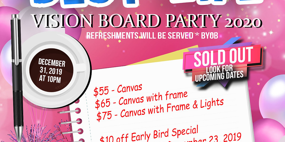 Vision Board Party - SOLD OUT