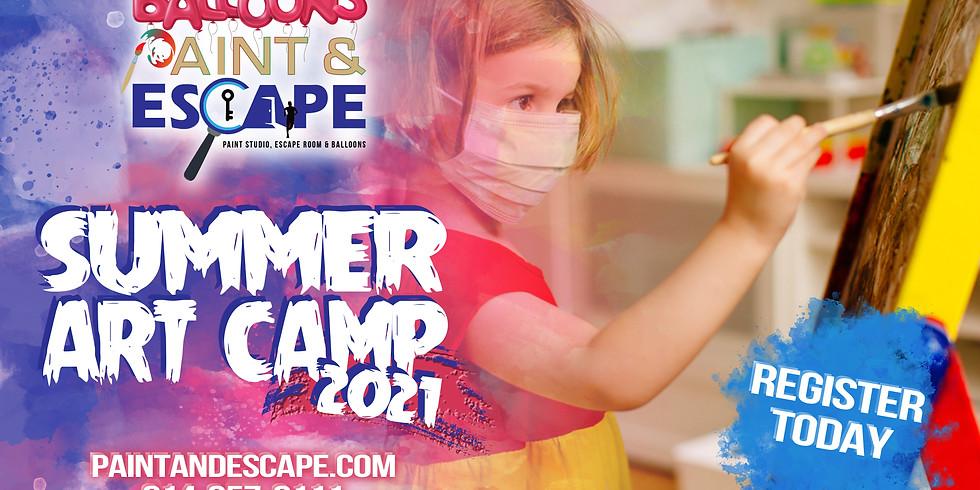 Summer Art Camp - Ages 5 - 14