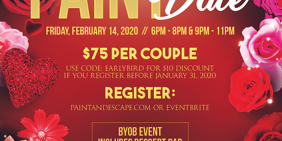 Paint Date- Valentines Day Event