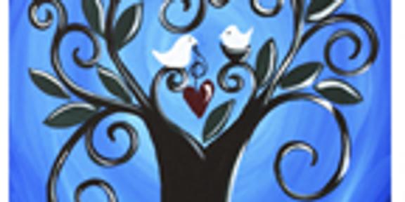 Love Birds - Painting