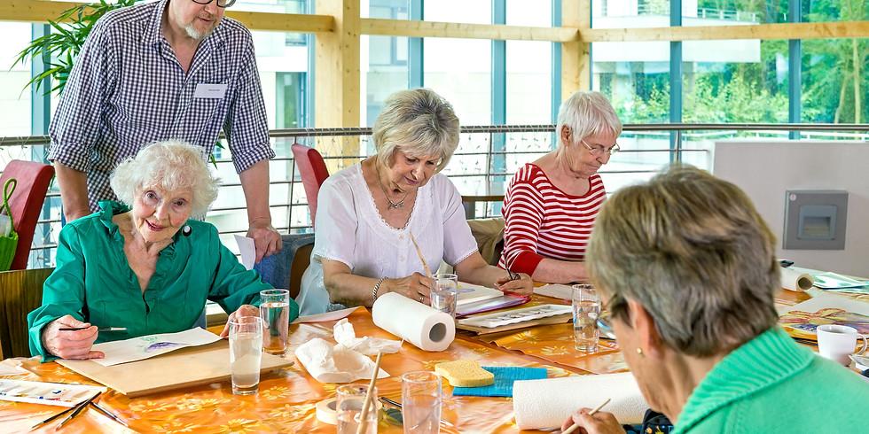 Seniors Paint FREE - AM Session