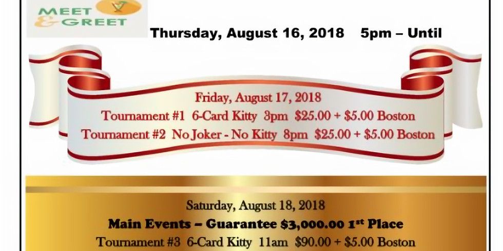 21st Annual Statewide Bid Whist Tournament