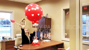 Balloons at Paint & Escape - LOVE NOTES1