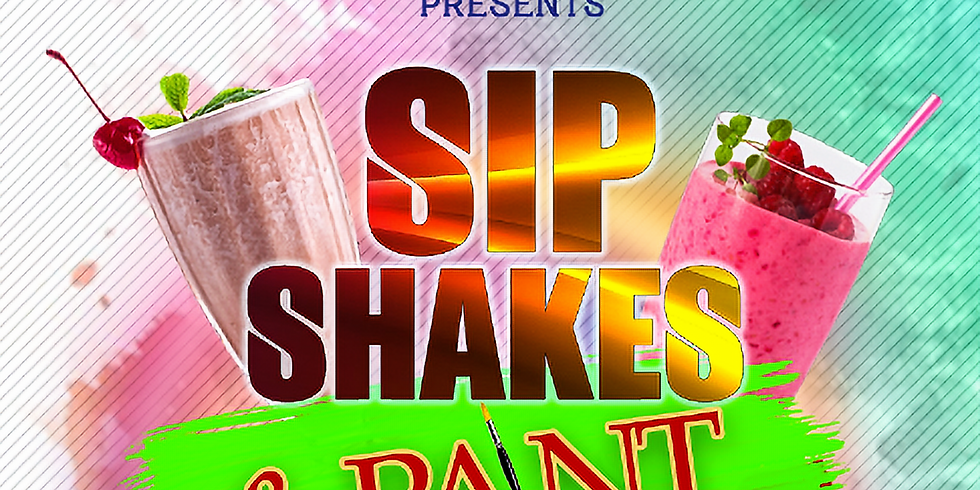 Sip Shakes & Paint