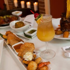 Tapas and drinks at Melaza Bistro!