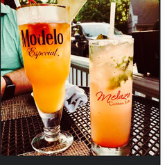 Melaza Punch and our Guava Mojito