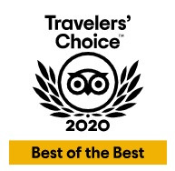 2020 Travelers' Choice! Best of the Best!