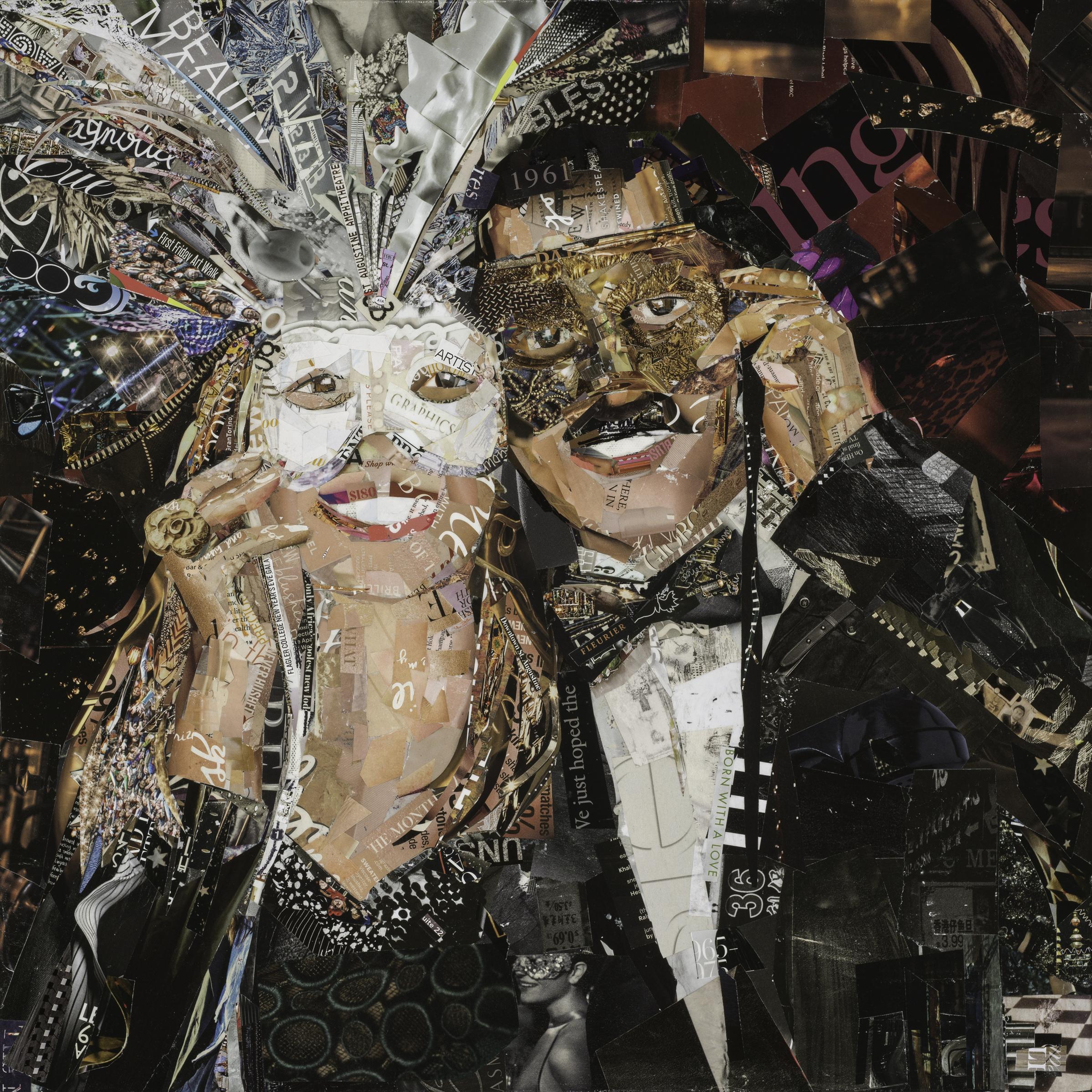 Masquerade, 20x20