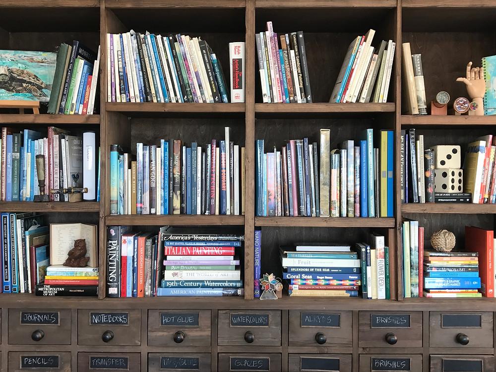 Torkos Art Studio Bookcase, St Augustine