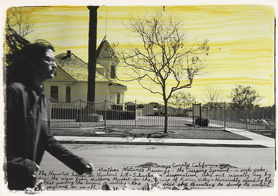 Templeton Ed - Untitled (Yellow Sky with House)