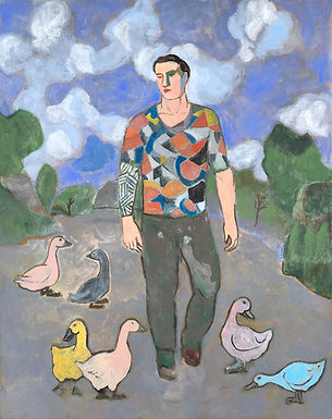 Chia Sandro - The Wayfarer with Ducks