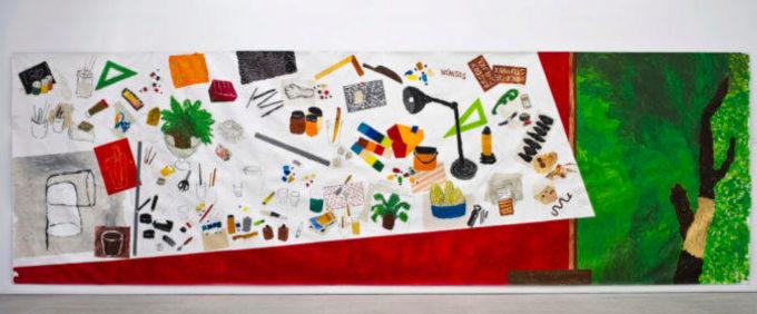 Corazon Alberto - Mesa del pintor Alberto Corazon (Observaciones)