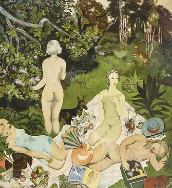 Jespers Floris - Naakten in het bos (déjeuner sur l'herbe)