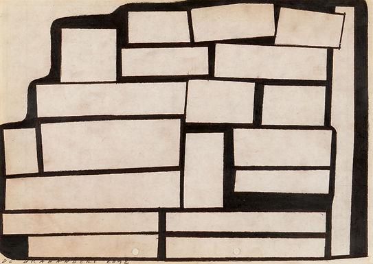 De Brabandere Mario - Kompositie met houten bouwblokken nr. 22