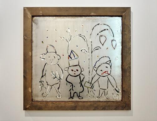 Tayou Pascale Marthine - First Graffiti