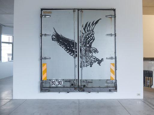 Mary Xavier - Bionic Eagle beyond the Mountain of Mountain of Memory Lane