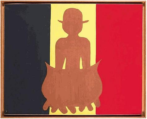 Copley William N. - Belgium Flag