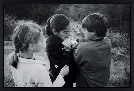Templeton Ed - Untitled (Kids Smoking In Hidden Valley)