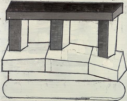 De Brabandere Mario - Kompositie met houten bouwblokken
