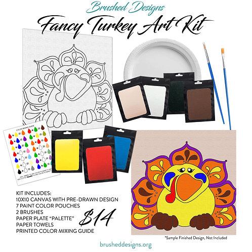 Fancy Turkey Art Kit