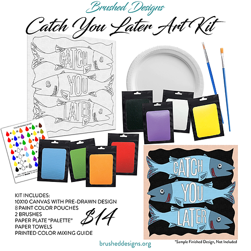 Catch You Later Art Kit
