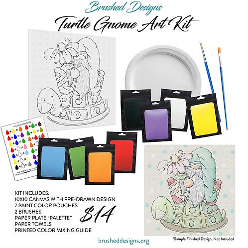 Turtle Gnome Art Kit