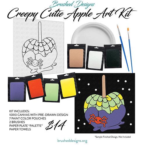 Creepy Cutie Apple Art Kit