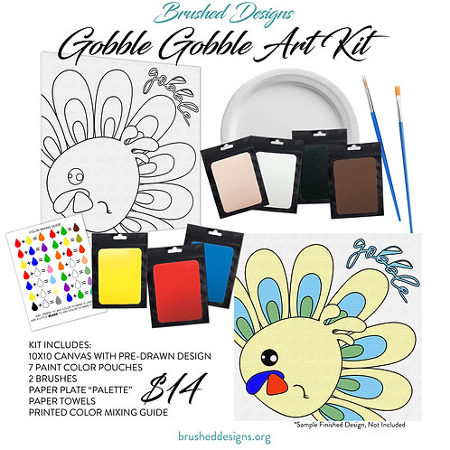 Gobble Gobble Art Kit