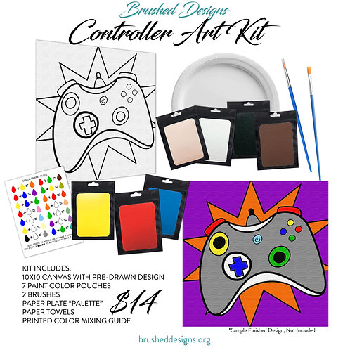 Controller Art Kit