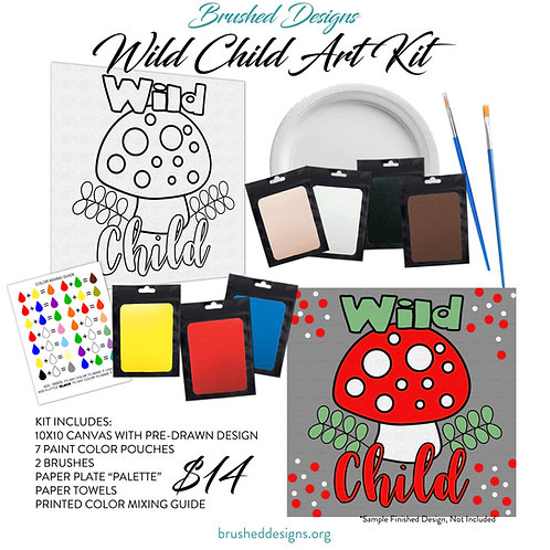 Wild Child Art Kit
