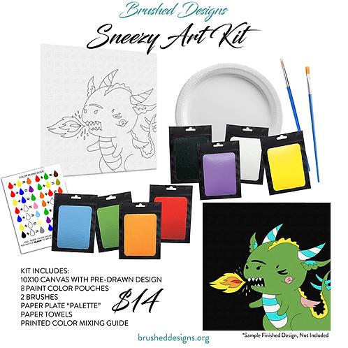 Sneezy Art Kit