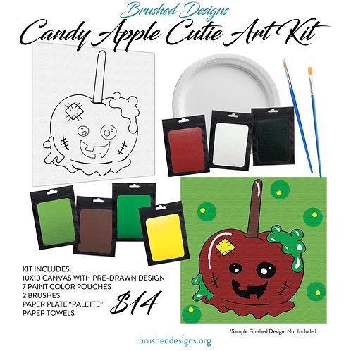 Candy Apple Cutie Art Kit